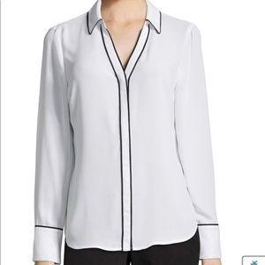 White Worthington blouse